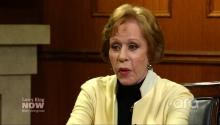Carol Burnett doesn't talk politics – except Donald Trump