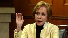 Carol Burnett on 'SNL,' Trump, & her remarkable career
