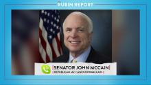 John McCain: Committing to Action Then Backing Off is