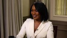 Angela Bassett thinks Hillary Clinton would be a great president