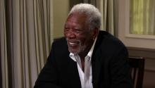 Morgan Freeman Does it for the Money