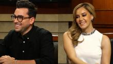 Dan Levy on 'Schitt's Creek' & Rosie Rivera on New Memoir