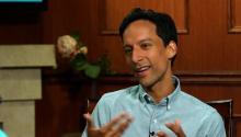 How Danny Pudi Broke His Nose On Set of
