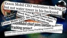 ExxonMobil CEO: No Fracking In My Backyard!