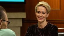 "Sarah Paulson: it's ""rough"" for women in Hollywood"