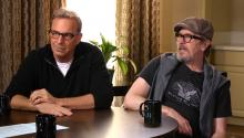 "Kevin Costner & Gary Oldman blast ""immature"" presidential candidates"
