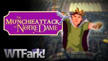 MUNCHIE ATTACK OF NOTRE DAME: Drunk College Student Hammers Through Wall For Hot Pocket