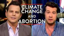 Steven Crowder and Dave Rubin Discuss Abortion and Climate Change