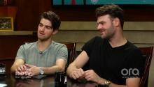 The Chainsmokers ask Larry King a great question