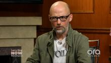 "Moby on Trump: He's a ""baffling buffoon"""