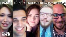 Rubin Report Fan Show: France, Turkey, England, Germany, Jordan