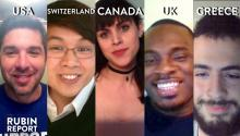 Rubin Report Fan Show: Canada, United Kingdom, USA, Switzerland, Greece