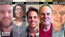 The Rubin Report Fan Show: Switzerland, Sweden, Colorado, Ireland, Japan