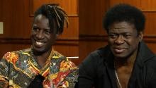 Famed poet Saul Williams & soul singer Charles Bradley