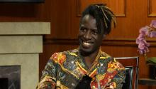 Poet Saul Williams was