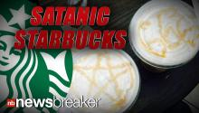 SATANIC STARBUCKS: Barista Accused of Drawing Devil Worshipping Symbols in Coffee Foam
