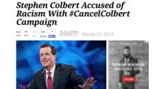 Jesse Stands With Colbert