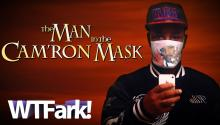 THE MAN IN THE CAM'RON MASK: Rapper Cam'ron Releases His Own Line Of Ebola Mask. (Cuz Nothin' Says Gangsta' Like An Ebola Mask)