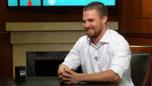 "How Stephen Amell feels about Drake calling himself the ""6 God"""