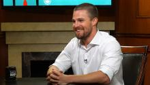 Stephen Amell on Olicity, 'Arrow' fans, & Drake