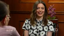 Who was Larry's childhood hero? Gillian Jacobs turns the table on The King