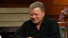 William Shatner on James Spader, 'Outlander' & the new 'Star Trek' series