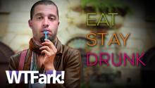 EAT STAY DRUNK: Cops Bust Man Passed Out In Car In Middle Of Road. Helloooo Florida!
