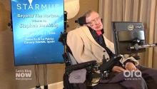 Stephen Hawking: We have not become less greedy or less stupid