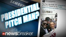 PRESIDENTIAL PITCH MAN?: White House Slams Samsung, David Ortiz for Marketing Stunt Using Photo of President Obama