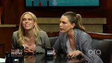 Erin and Sara Foster on girl squads