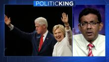 Dinesh D'Souza: 'Hillary's America' includes 'seedy' effort to profit with husband Bill Clinton