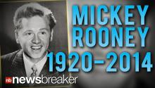 1920-2014: Hollywood Legend Mickey Rooney Dies at 93 Years Old