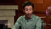 Simon Helberg imitates Nic Cage, Al Pacino, & Billy Baldwin...again!