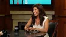 Julie Chen...has a Donald Trump impression?
