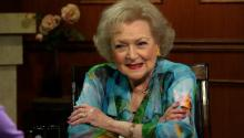 Betty White on the new 'Late Show' hosts