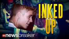 INKED UP: Justin Bieber Gets Another Tattoo Despite Promising Fans He'd Lay off the Body Art