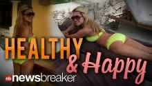 HEALTHY & HAPPY: Amanda Bynes Tweets Bikini Shot Birthday Vacation in Mexico