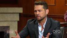 Jason Priestley's friendship with Justin Trudeau