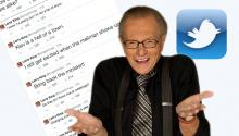 Larry King's Late Night Tweets Are Nuts