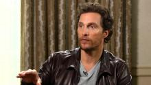 Matthew McConaughey: I'm Telling the Truth, I Drive a Lincoln