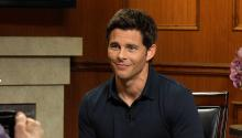 James Marsden on Anthony Hopkins
