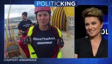 Lucy Lawless on PoliticKING
