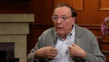 James Patterson watched a woman steal his book