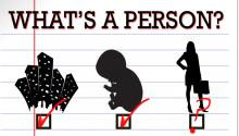 What's a Person?