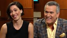 'Christine' star Rebecca Hall & 'Evil Dead' legend Bruce Campbell