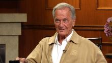 Cassandra 'Elvira' Peterson & music legend Pat Boone
