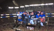 TODAY'S LOL: Father and Son's Hilarious NCAA Jumbotron Dance Steals the Show