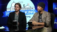 Actors Kendrick Sampson, Chris Brochu on joining 'Standing Rock' protest