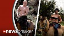 Instagram Removes Photo of Chelsea Handler Imitating Vladimir Putin Topless On a Horse