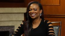 Kandi Burruss on how 'Housewives' producers generate drama